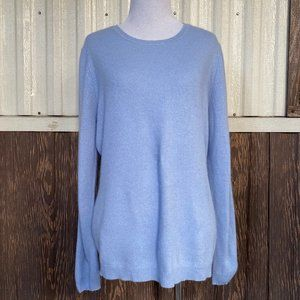 Charter Club 100% cashmere sweater crewneck size L